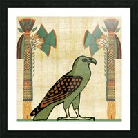 egyptian paper papyrus bird Picture Frame print