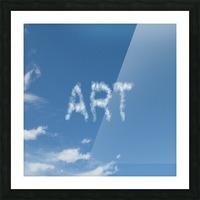 Artist Sky Picture Frame print