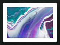 color acrylic paint art painting Picture Frame print