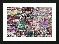 Graffiti Wall Background Picture Frame print