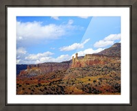 Chimney Rock Ghost Ranch NM  Picture Frame print