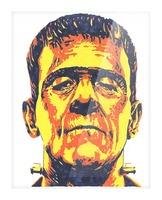 Frankenstein  Picture Frame print