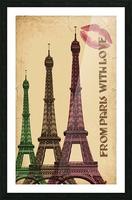 france paris paris france city Picture Frame print