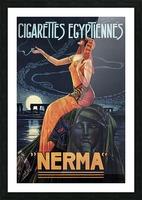 vintage poster print advertisement Picture Frame print