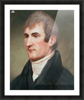 Lewis Picture Frame print