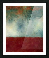 The Gathering Storm Picture Frame print