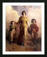 painting artwork art vintage Picture Frame print