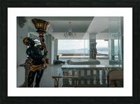 Abandoned Billionaires Mansion Picture Frame print