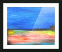 Colors of a Quiet Day Picture Frame print