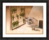 Abacus Picture Frame print