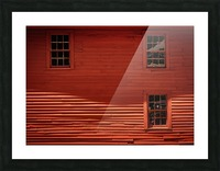 Red House - Harrisville NH Picture Frame print