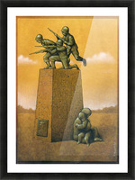 Monument Picture Frame print