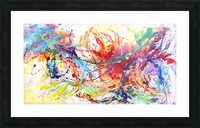 Riding Colors  Picture Frame print