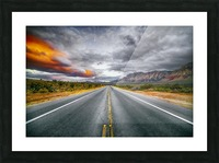 Red Rock Canyon  Picture Frame print