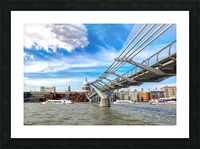 Landscape - London skyline - St Pauls Cathedral Picture Frame print