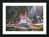 Radio City Picture Frame print