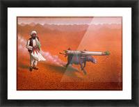 Rocket Picture Frame print