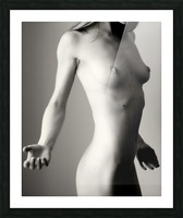 Nude 4 Picture Frame print