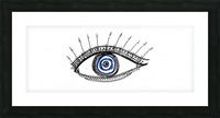 The Eye 20X8 Picture Frame print