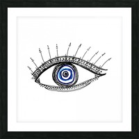 The Eye  12X12 1 1 Picture Frame print