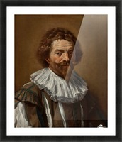 Portrait of a man Picture Frame print