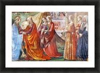 The Visitation Picture Frame print