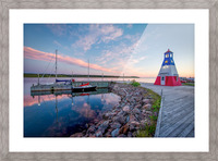 Acadian Skies Picture Frame print