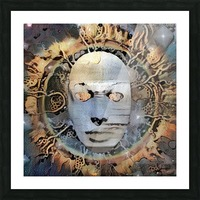 The Mask of Mystery Picture Frame print