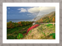 Cabot Trail Colors Picture Frame print
