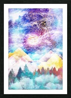 Beauty of Nature   Illustration VI Picture Frame print