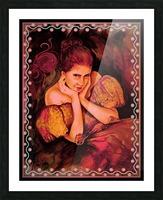 Flirty Girl  Picture Frame print