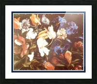 . Floral Explosion   9 Picture Frame print
