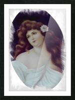 Titian Beauty Picture Frame print