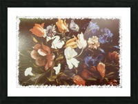 Floral Explosion  Picture Frame print