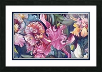 Orchids Blooming  Picture Frame print