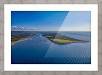 Cheticamp Aerial  Picture Frame print