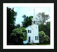 Church Picture Frame print