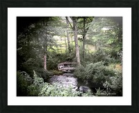 Hidden path Picture Frame print