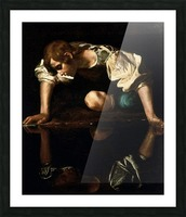 Narcissus Picture Frame print