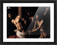 Christ at the column Picture Frame print