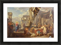 The Calling of Saint Matthew Picture Frame print