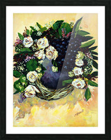F07 - Bauhinia Variegata Picture Frame print
