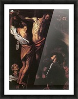 Crucifixion of Sant Andrew Picture Frame print