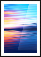 Abstract Sunset XI Picture Frame print
