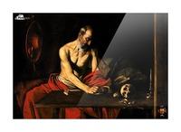 Saint Jerome writing Picture Frame print
