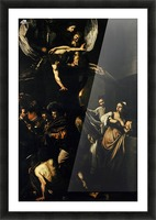 The Seven Works of Mercy Picture Frame print