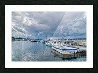 Approaching Storm Clouds - Cheticamp Harbour Picture Frame print