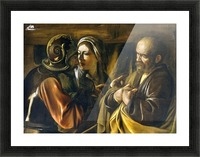 The Denial of Saint Peter Picture Frame print