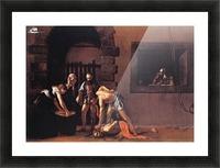 Beheading of Saint John the Baptist Picture Frame print
