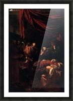 Morte della Vergine Picture Frame print